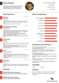 Resume Template Simple Format With 81 Charming One Page Eps Zp