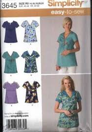 Scrub Top Patterns Mesmerizing Cute Scrub Tops Made Using Simplicity 48 Pattern Craftiness