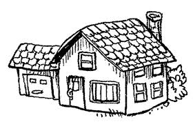 Small Picture County School House Coloring Page Coloring Sky