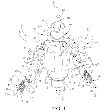 Patent us8511964 humanoid robot patents drawing small gauge electrical wire lm311 parator circuit