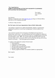 Resume Cover Letter Sample Beautiful Cover Letter Sample For Uk Visa