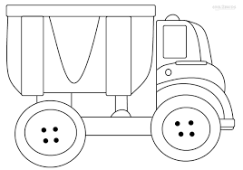 Dump Truck Coloring Page Printable Dump Truck Coloring Pages For ...