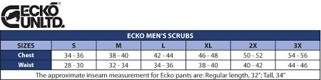 Ecko Scrubs Riverside Scrub Top Mens Scrubs Ecko Scrubs