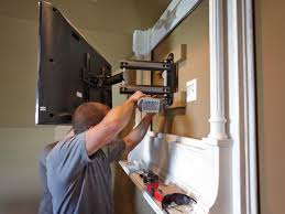 Wall Mounted Tv Frame How To Build A Tv Wall Mount Frame How Tos Diy
