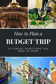 How To Budget For A Trip How To Plan A Budget Trip To Europe Mapping Megan
