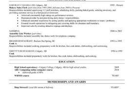 Bakery Manager Resume Sample CV Resume List