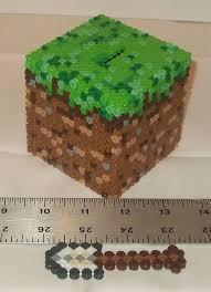 17 best images about minecraft modern minecraft minecraft dirt cube w shovel 3d perler