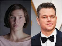 Amanda Knox accuses Matt Damon of ...