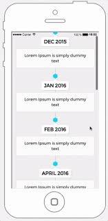 Timeline Layout Your Application Builder