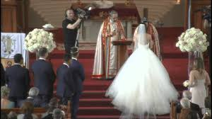 The Rite of Holy Matrimony for Anthony Galluzzo and Christine Saati -  YouTube