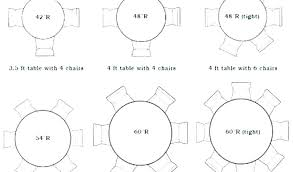 full size of round tables that seat 8 6 foot table seats how many 5 dining