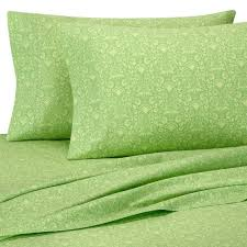 details about rare amy butler sari bloom green full sheet set 100 organic 400 tc fl 4pc