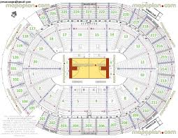 United Center Seating Chart With Seat Numbers Reasonable Msg Boxing Seating Chart United Center Map With