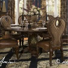 The Sovereign Round Dining Table By Michael Amini DD - Aico dining room set