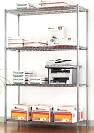 alera wire shelving units offer ample storage for home business and even restaurants the strong welded alera wire shelving