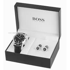"""men s hugo boss cufflink box set watch 210025 watch shop comâ""""¢ mens hugo boss cufflink box set watch 210025"""