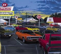 car painting mopar studio muscle cars nostalgia places art garage drawing
