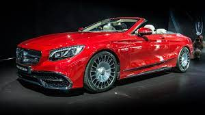 In cabriolet form, the vision 6 is still impossibly long, wide, and low. The Mercedes Maybach S650 Cabriolet Has Arrived Top Gear