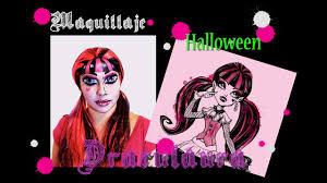 maquillaje draculaura monster high makeup tutorial
