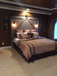 i love how the doors stick out on either side of the bed and go all the way to the floor it really makes it look like barn doors