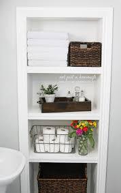 Recessed Shelves Bathroom Bathroom Shelves Stacy Risenmay