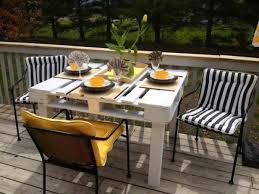 diy pallet outdoor dinning table. 38 insanely smart and creative diy outdoor pallet furniture designs to start homesthetics decor diy dinning table o
