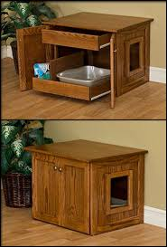 furniture to hide litter box. pinnacle woodcraft cat litter box store all necessary items in the optional drawer and clean furniture to hide