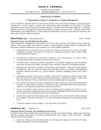 Associate General Counsel Cover Letter General Counsel Resume Lawyer