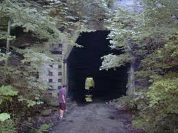 Kings Station OH Athens County Kings Hollow Tunnel built in.
