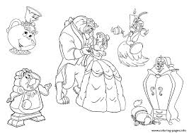 Small Picture all characters beauty and the beast disney princess 9bc5 Coloring