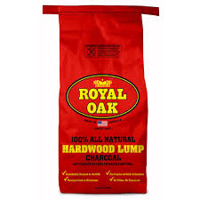 Lighting Royal Oak Charcoal Royal Oak 15 44 Lb 100 All Natural Hardwood Lump Charcoal