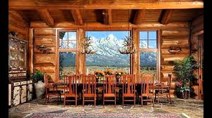 Log Home Interior Design Ideas YouTube - Log home pictures interior