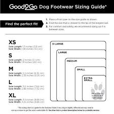 Qumy Dog Boots Size Chart Good2go Black All Weather Dog Boots