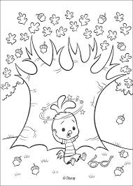 Small Picture Chicken little falls coloring pages Hellokidscom