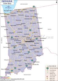 indiana area codes  map of indiana area codes