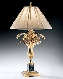 magnificent vase table lamp unique table lamp and vase and flowers brass table lamp