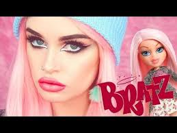 cloe bratz doll makeup tutorial ashtoberfest series you