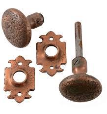 copper door knobs. copper door knobs antique