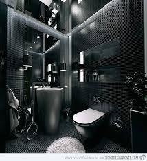 black bathroom. Modern Bathroom Black