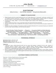 Example Electrician Resume Best Resume Templates Best Sample Electrical Engineer Resume Click Here