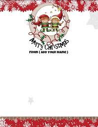 Christmas Stationery Free Under Fontanacountryinn Com
