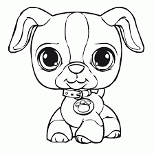 Littlest Pet Shop Coloring Pages Coloringrocks