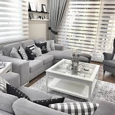 Some ideas to you!! Grey Lovers #homedecor #designlovers  Grey Living Room  ...