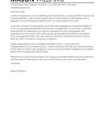 Cover Letter Accounting Examples Staff Accountant Cover Letter