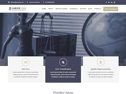 Lawyer Zone - Free WordPress Theme for Lawyer, Law offices & Law firms