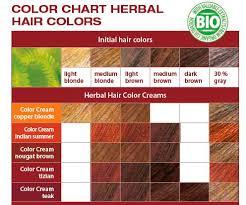 Logona Hair Dye Color Chart Logona Natural Hair Dye Copper Blond