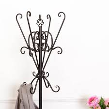 Wrought Iron Coat Rack Stand Coat Racks extraordinary wrought iron coat rack Wrought Iron Coat 74