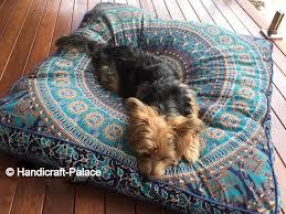 Floor Pillows And Poufs Amazoncom Square Elephant Mandala Floor Pillow Indian Cushion