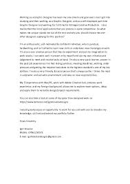 Cover Letter For Graphic Design Job My Freelance Graphic Designer Job Cover Letter