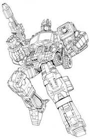 Small Picture Transformers Color Pages Ultimate Optimus Prime Transformers
